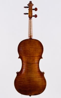 Peter Guarneri Violin Back